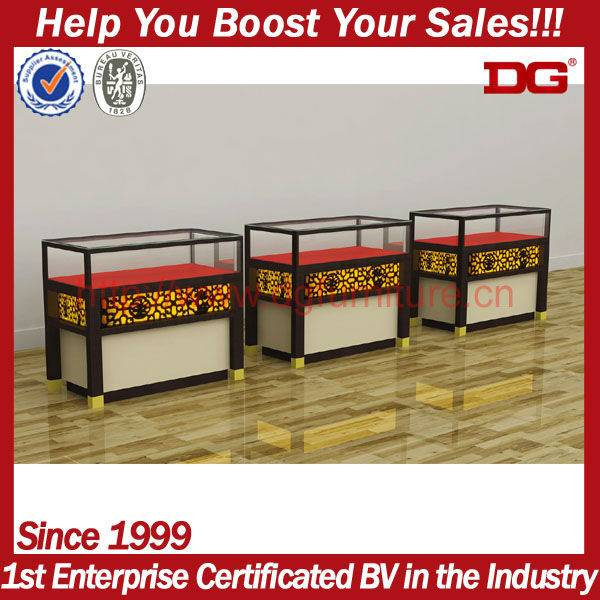 2013 latest exquisite retail floor stand displays for jewelry