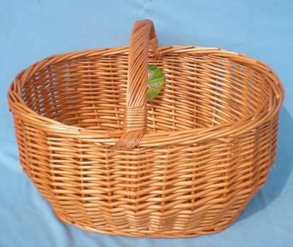 Handle Basket,Willow Basket, Storage Basket HD-L014