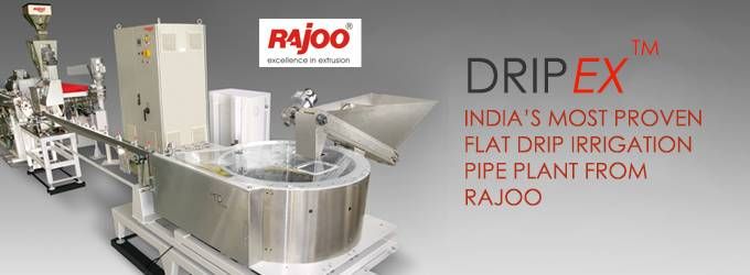 DRIPEX - Drip Irrigation Pipe Plant For Round And Flat Dripper