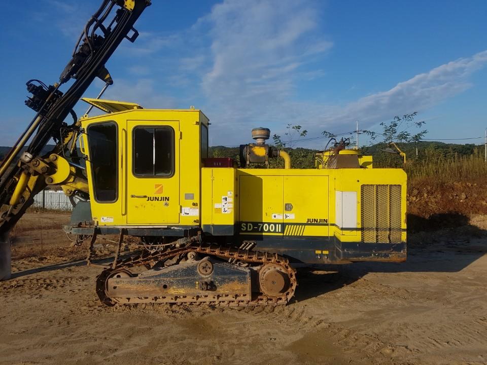 Used hydraulic crawler drill JUNJIN SD-700II