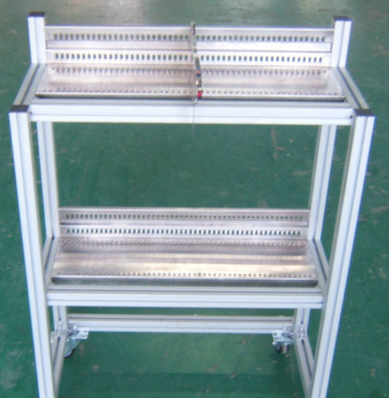 FUJI NXT feeder cart , NXT SMT feeder storage cart , smt feeder trolley