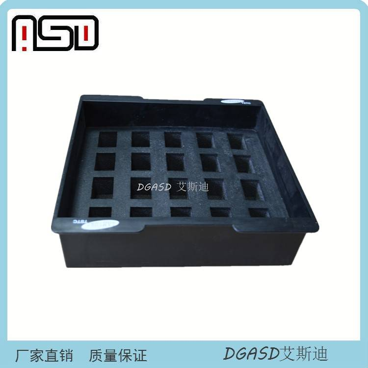 Electrostatic Discharge PP Hollow Sheet box Polypropylene Corrugated Twin wall Hollow Sheet Box