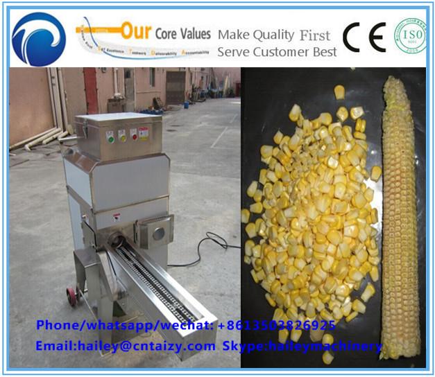Sweet Corn maize threshing Machine