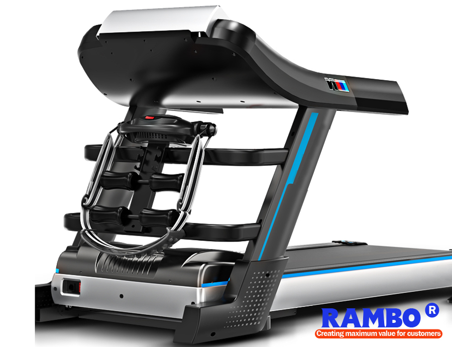 "10.1""/14.1""Color Screen Multi-Functional with Ascension Treadmill RB-701DS"