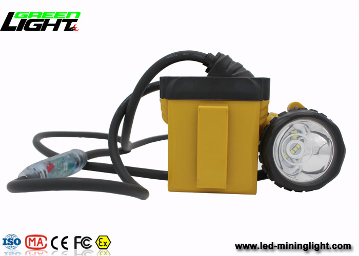 Rechargeable Coal Miner Headlamp, High Brightest IP68 Led Mining Light