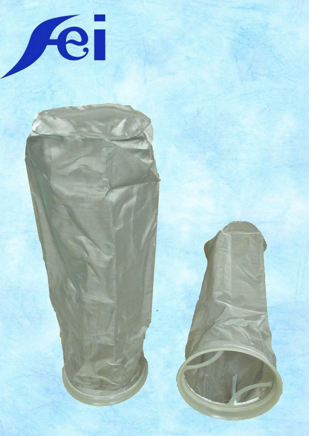 150 mesh Plastic ring Stainless steel oil filter bag