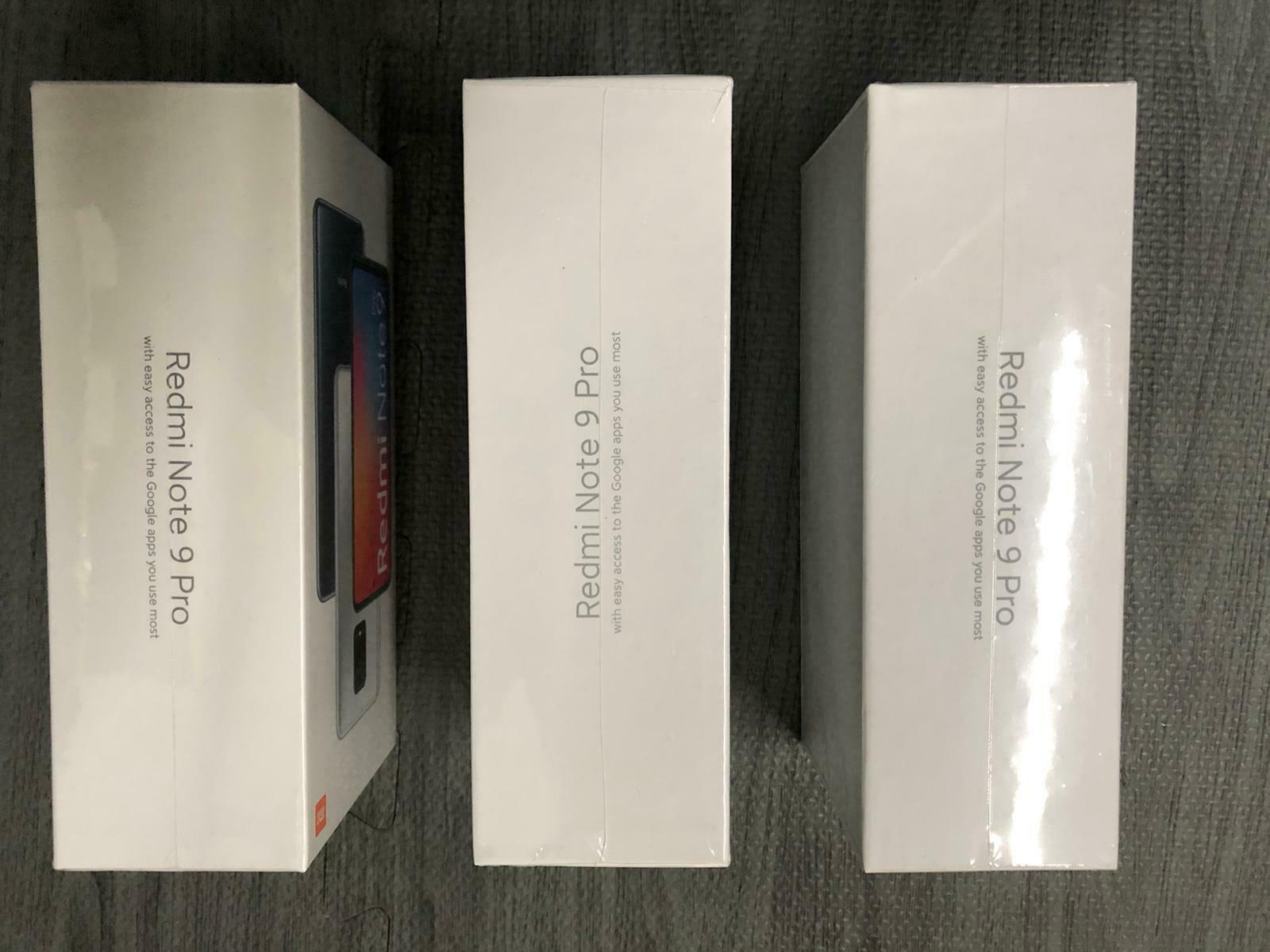 Xiaomi Redmi Note 9 Pro - 6GB RAM - 128GB ROM - Dual SIM - NEW +14704086638