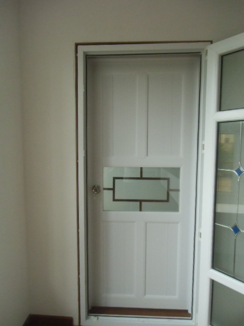 2017 new type Aluminium casement door