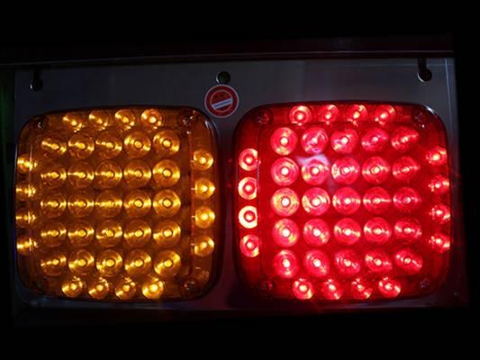 24V led truck trailer tail brake lamp