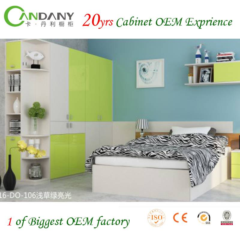 20 Yrs in OEM/ODM Modern Customized Wardrobe Cabinet hinged wardrobe  Euro Hot Sale Home Furniture