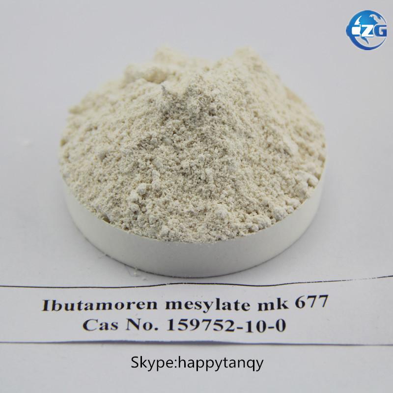 Raw Powder Sarm Ibutamoren Mesylate Mk-677 CAS: 159752-10-0