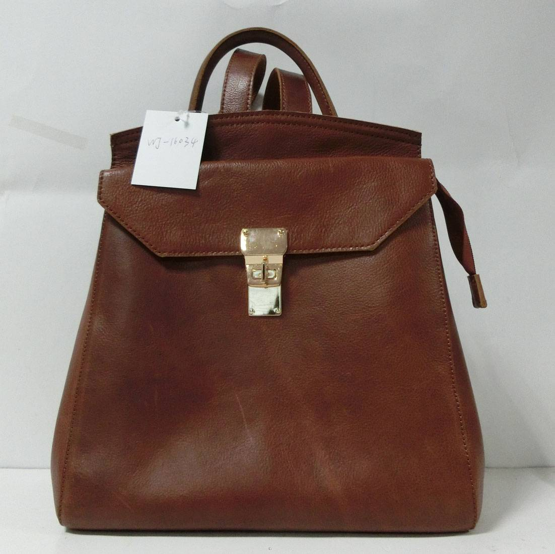 Good Quality of Leather Backpack bag