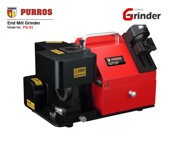 PURROS PG-X5 end mill grinder, end mill sharpening machine, end mill sharpening service