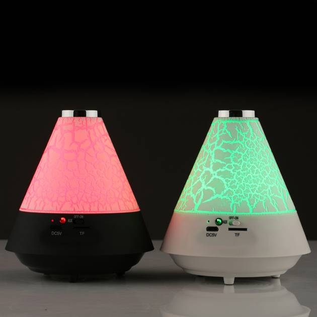triangle bluetooth speaker with led