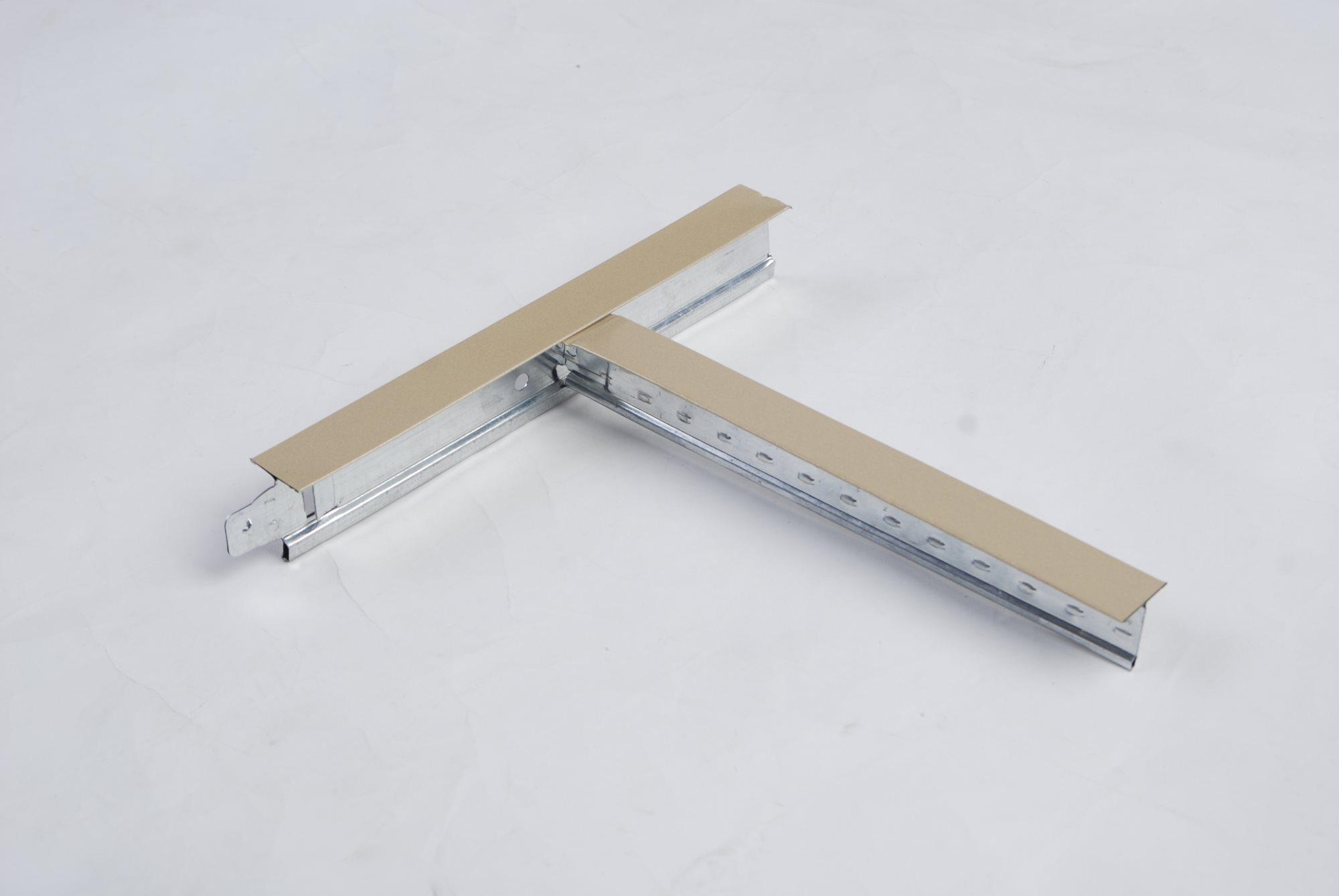 Plain Flat Ceiling T-grid