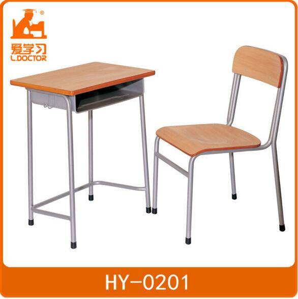 School Furniture Student Chair with Desk in Classrooms