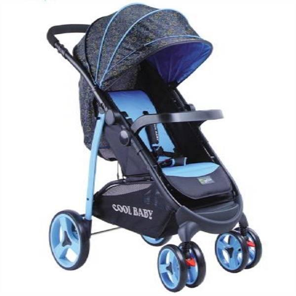 deluxe baby stroller with storage basket  EN1888 Certificate