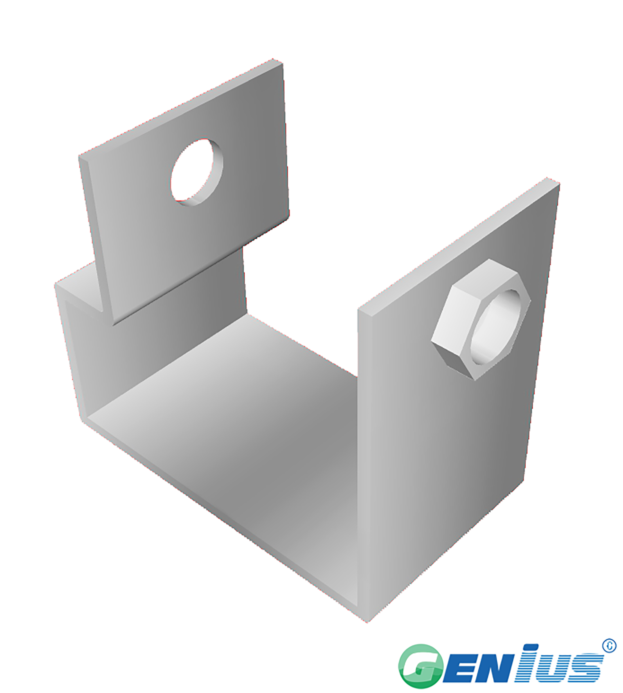 Type C clips(Stainless steel 316)