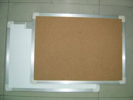 Cork Board with Right-angled Aluminium Frame