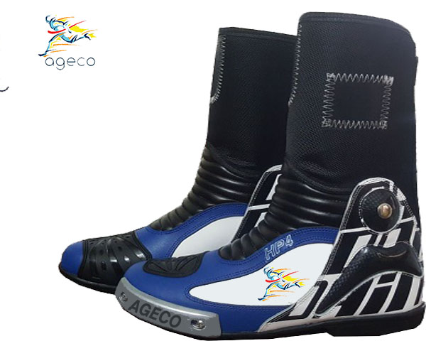 MULTICOLOUR MOTORCYCLE SHOES MOTORBIKE RACING LEATHER BIKER BOOTS CUSTOMMADE-ALL SIZES AVAILABLE