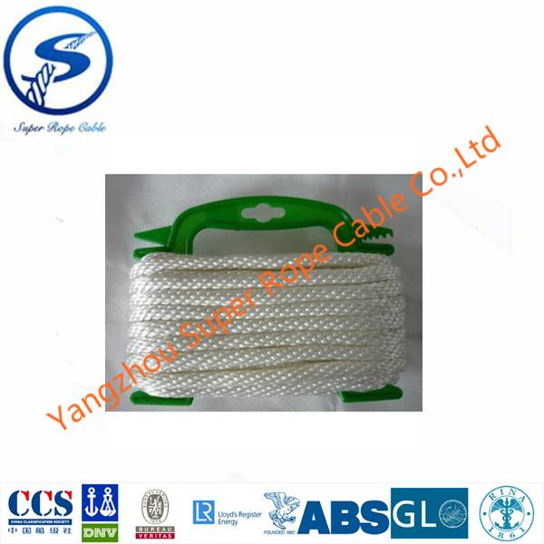 Polyester Solid Braided  rope,nylon solid braided rope,polypropyle Multifilament  solid braided rope