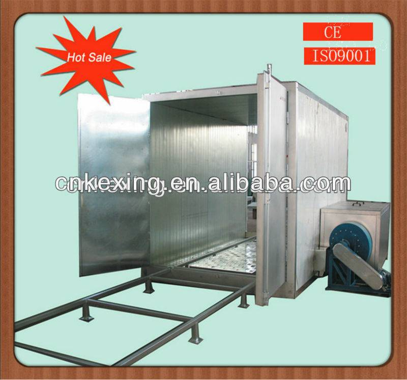 powder curing oven gas