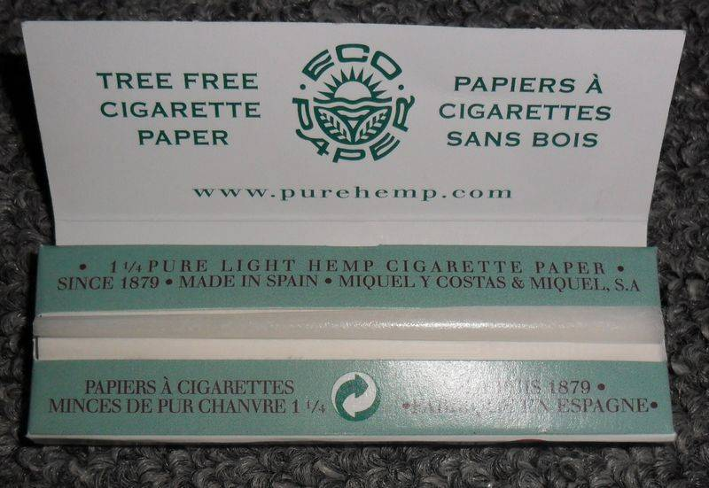 pure hemp cigarette  paper