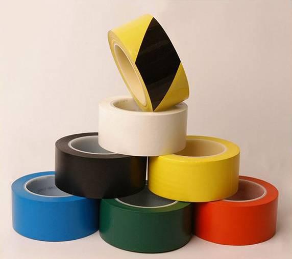 yellow floor marking tape HFT-103 Floor Tape
