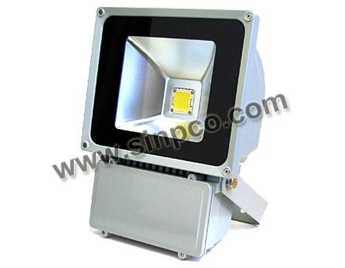 Outdoor LED Floodlights waterproof IP65 80W COB LED Epistar/BridgeLux