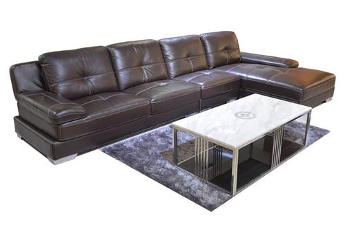 Hotel furniture leather sofa sectionals h992