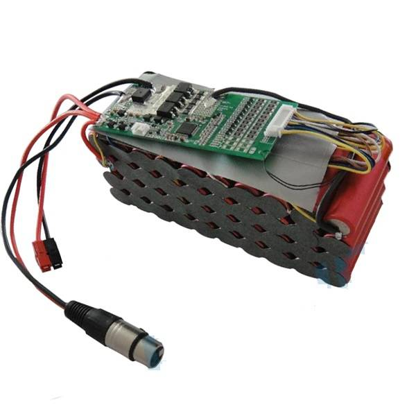 E-Bike Battery Pack 36V 12Ah with Protection PCM and Connectors