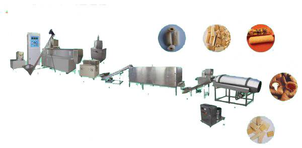 baked core filling processing line in China