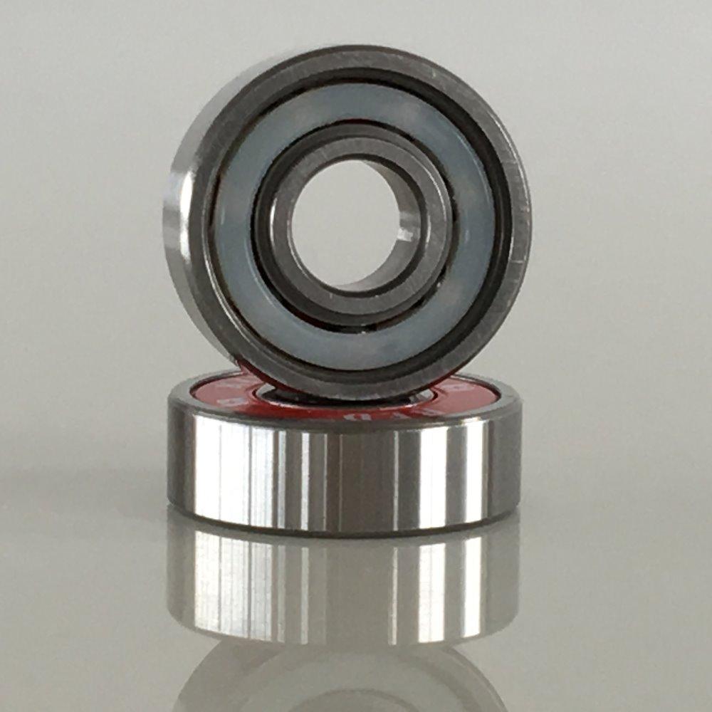 Red skateboard ball bearings, ball bearings for skateboard