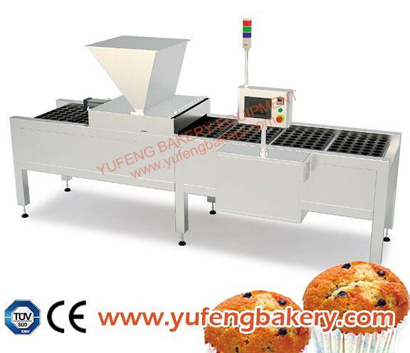 Depositor for two different types of dough YUFENG