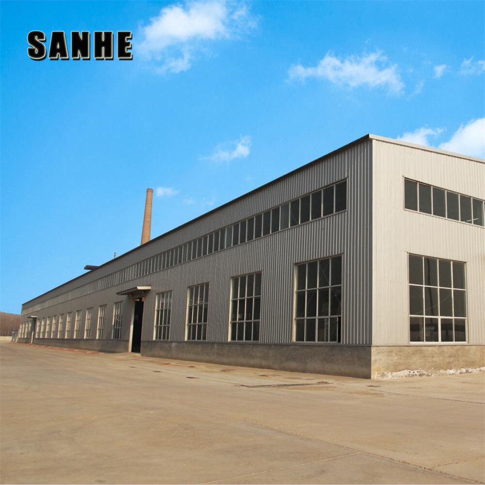 Low Cost and High Quality Prefabricated galvanized Steel Structure