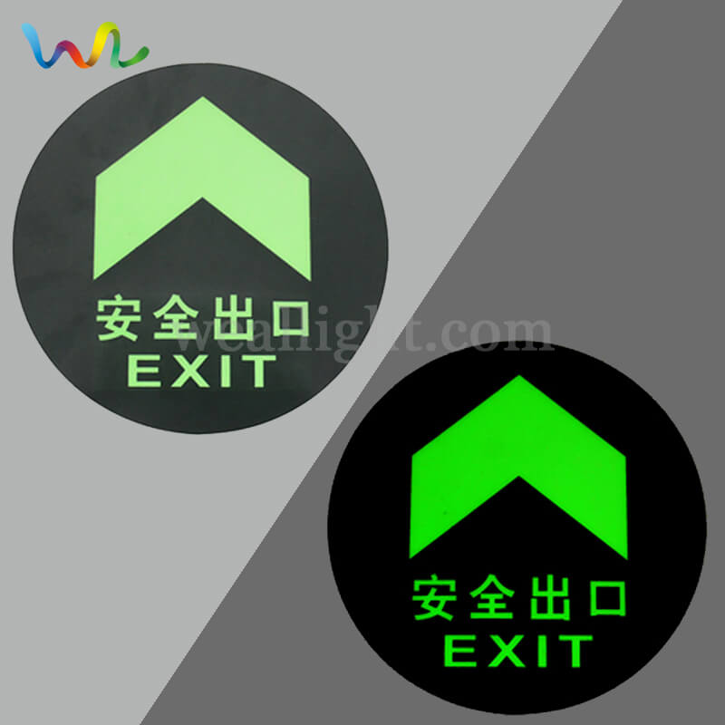 Fire Exit Signs, Emergency Exit Signs, Photoluminescent Exit Sign