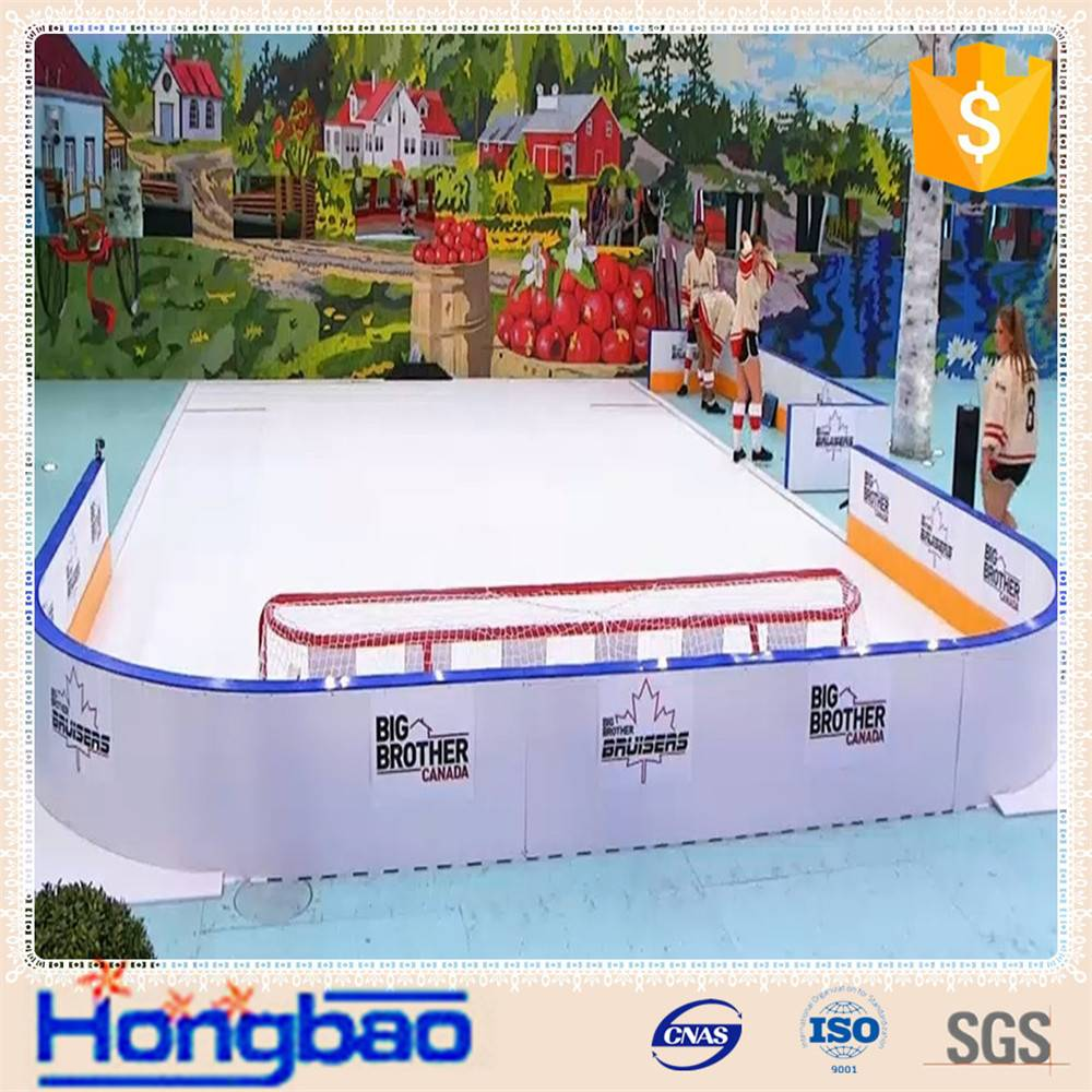 synthetic plastic ice sheets/high density polyethylene arena boards manufacturer/roller skating ice