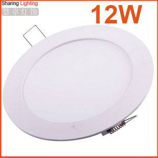 12 Watt LED downlight led panel ceiling light,ceiling lamp for bedroom ,l