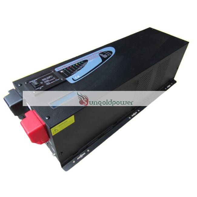 4KW - 6KW Split Phase Pure Sine Wave Inverter with Charger (LCD)