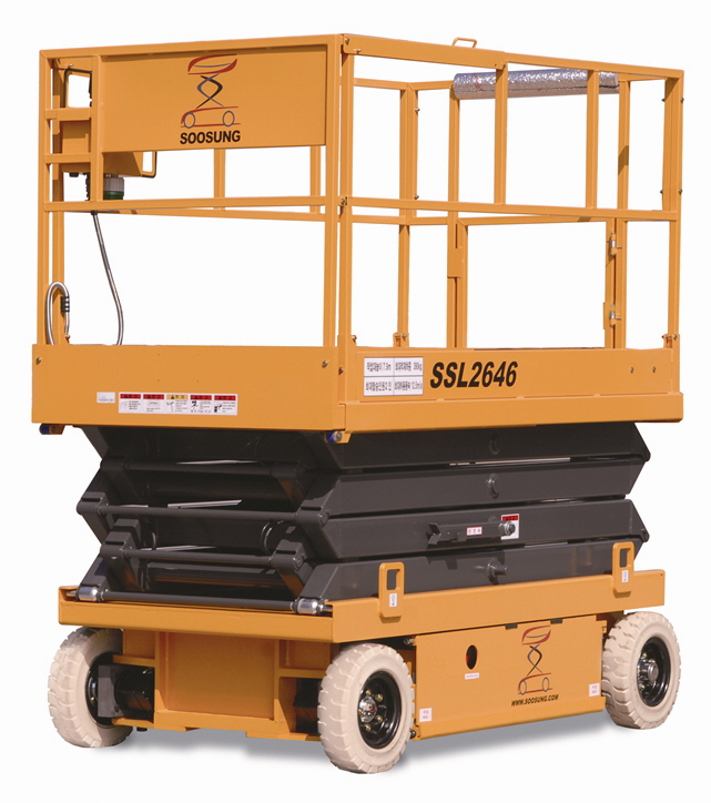 ELECTRIC SELF - PROPELLED ELEVATING WORK PLATFORM