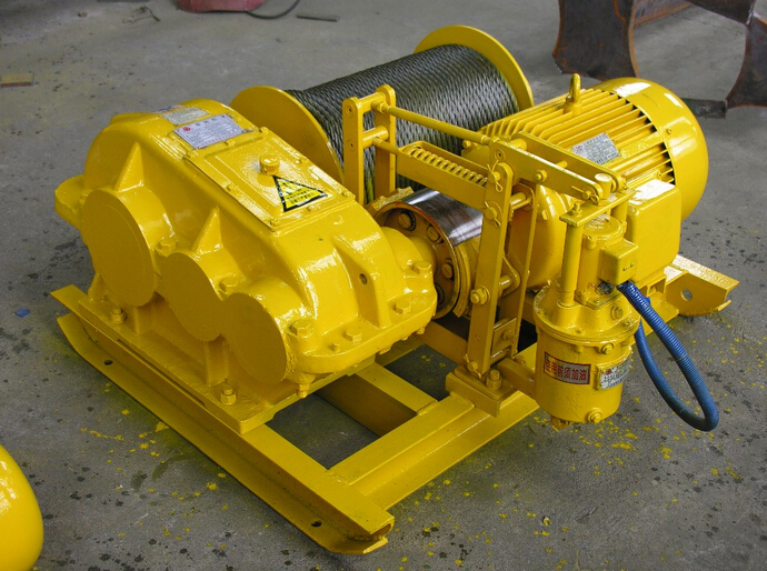 Mechanical Cable Pulling Winch Machine Electric Winch Price