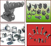 Castings of iron, ductile iron, carbon steel, alloy, gray iron, aluminium, stainless steel
