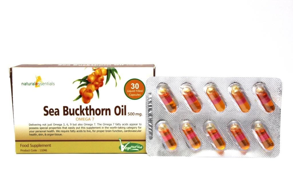 Sea Buckthorn Oil Capsules