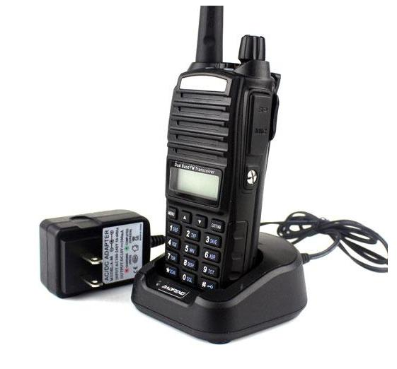 Cheap Radio Baofeng UV-82 VHF UHF 136-174 &400-520 Dual Band Ham Two Way Radio, Walkie Talkie