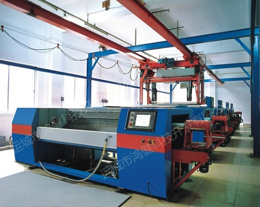 automatic electroplating machine for rotogravure cylinder