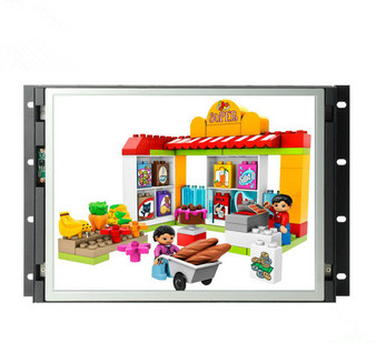 15 inch open frame advertising display
