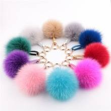 Fur Ball Key chain mink  Fur ball KeyChains