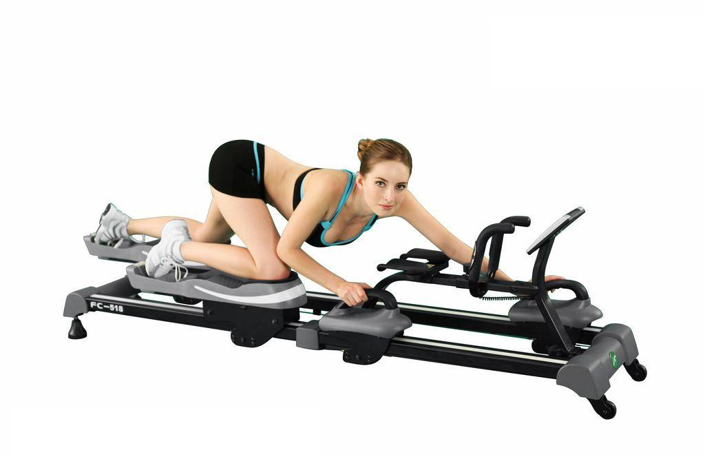 Crawling fitness equipment for  GYM club FC-518 red