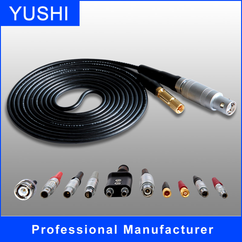 Ultrasonic UT Probes Cable for Connectors of BNC to LEMO