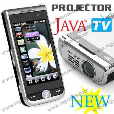 Quadband TV P790, 3.2 inch touch screen, FM projector cellphone wholesales from China